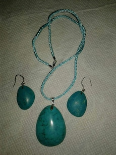 Turquoise Necklace & Earings
