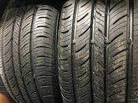 Set of 235/55R17 Continental ContiproContact with 80% tread life's! Toronto, M3J 3A4