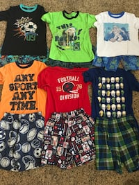 Boys Pajama PJ Lot Size Medium 10/12 - 12 pc. - 83rd & K7, XP Lenexa, 66227