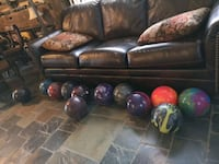 12 bowling balls $400 or 40 each Mississauga, L5A 2A6