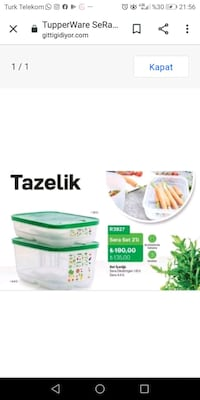 Tupperware sera set