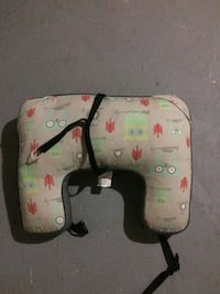 gray, red and teal owl print neck pillow Sherbrooke, J1E 3A9