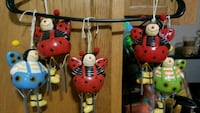 adorable lady bug wind chimes Youngstown, 44515