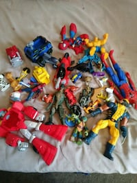 assorted-character action figure collection Santa Maria, 93455