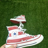 sneakers alte Converse All Star american flag 7031 km