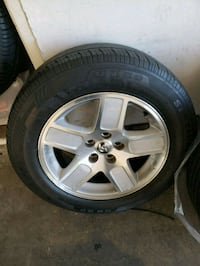 6 tires 4 rims all almost new condition  Antioch, 94509