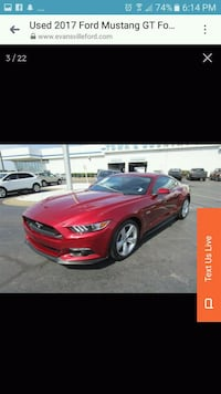 2017 Ford Mustang 2D coupe Evansville