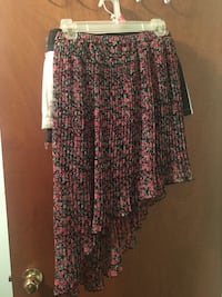 black and red floral long sleeve dress Catonsville, 21228