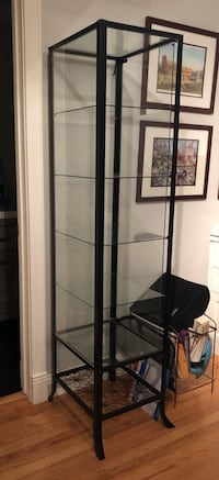 Black Metal Book Case/Display Cabinet Sunnyvale, 94087