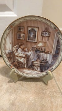 Trisha Romance collectible decor plate