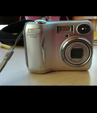 grigio Nikon point-and-shoot fotocamera Roma, 00167
