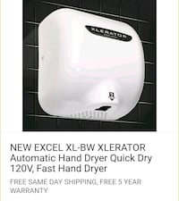 Hand dryer like new out of our tattoo shop  Coquitlam
