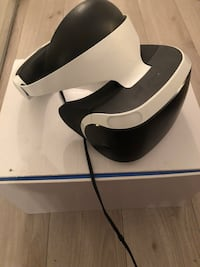 VR headset for ps4 with the box will go down to 520 if in cash Toronto, M5R 1C4