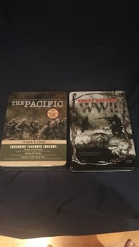 Ww2 and The Pacific DVD box sets  Vancouver, V6P 1V3