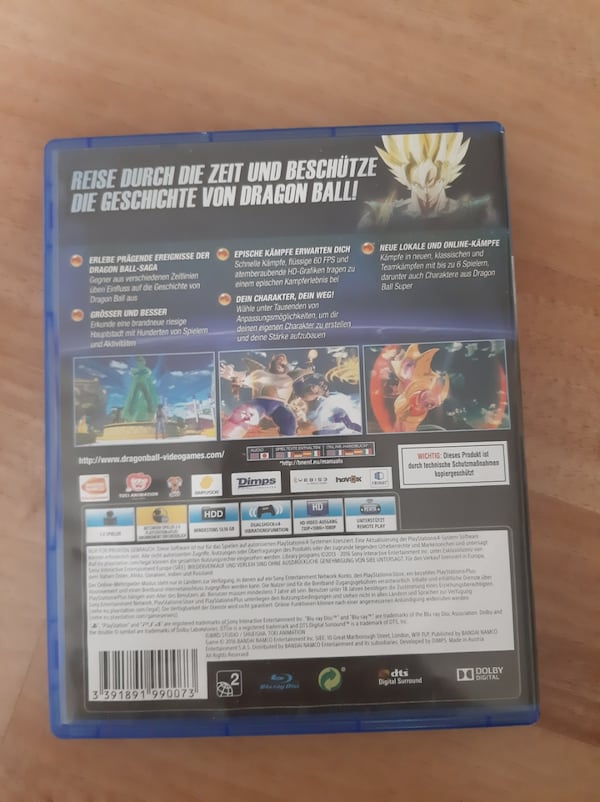 Dragonball xenoverse 2 ps4 1