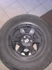 4 alterrain tires real good condition trying to get rid of them Las Vegas, 89108