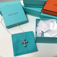 Tiffany & Co. ELSA PERETTI® CROSS PENDANT