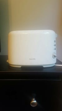 white Philips bread toaster McLean, 22101