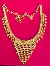 Gold plated necklace ( Indian Jewellery) Toronto, M5V 4A9