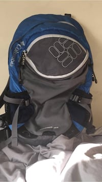 Blue Columbia travel bag 26 km