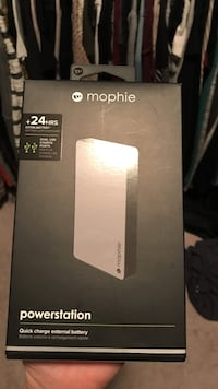 White and gray mophie powerstation power bank box Rockville, 20852