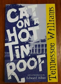 Cat on a Hot Tin Roof by Tennessee Williams  Barrie, L4N 7L8