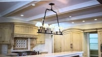 Bronze light fixture Weston, 02493