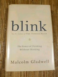 Blink by Malcom Gladwell (hard cover) Waterloo, N2T 1A6