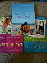 3 Alyson noël books London, N5W 2Y8