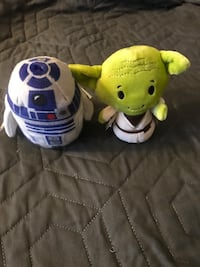 YODA and R2-D2