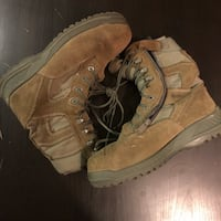 Air Force combat boots