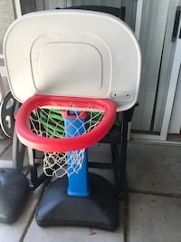 white and red Little Tikes basketball hoop Glendale, 85308