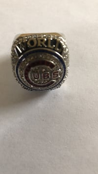 gold-colored encrusted Chicago Cubs Championship ring Casper, 82604