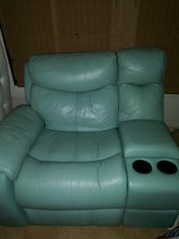 Teal Leather Recliner Sofa Chairs Haines City