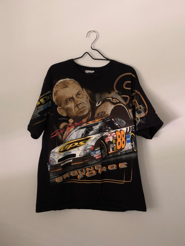 Vintage two sided nascar shirt