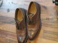 pair of brown leather dress shoes Amarillo, 79106