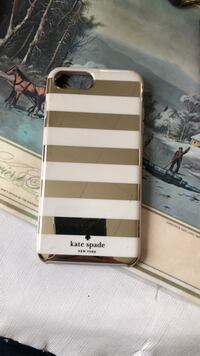 White and gold Kate Spade Iphone 7+ case Valley Stream, 11581