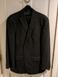 Men's 42 Regular Black Suit Savannah, 31401
