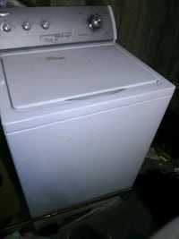 white top-load clothes washer Edmonton, T6H 5C3