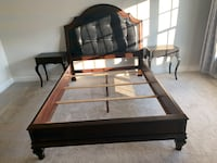 Queen size Bed with two night stands Leesburg, 20176