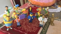 Bk Simpson's toy collection just missing Krusty the clown $20  Miami Lakes, 33014