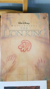 Lion king masterpiece collection