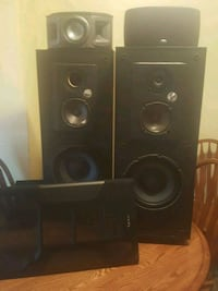 Infinity Towers with brand new speakers Lafayette, 47904