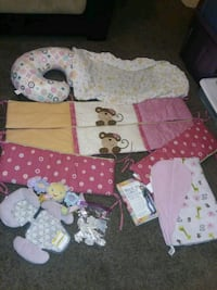 Girl bedding and more