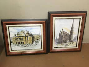 Two Very Nice Wall Pictures.