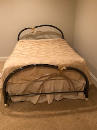 Brass headboard and footboard, full size or adjustable to queen size Potomac, 20854