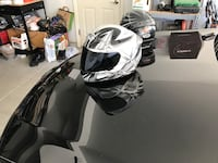 Shoei Gray and white full-face helmets Modesto, 95356