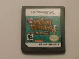 Animal Crossing Wild World DS Authentic