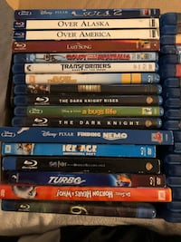 75+ Blu Ray titles with a handful of DVDs Niceville, 32578