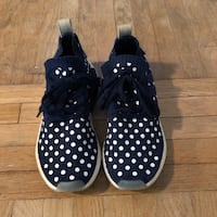 Polka dot blue and white adidas NMD's women's US 8.5 Toronto, M6G 2P3